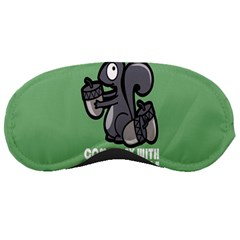Pet Squirrel Green Nuts Sleeping Masks