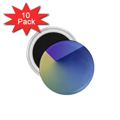 Purple Yellow 1.75  Magnets (10 pack)