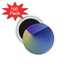 Purple Yellow 1.75  Magnets (100 pack)