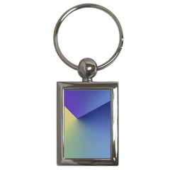 Purple Yellow Key Chains (Rectangle)