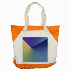 Purple Yellow Accent Tote Bag