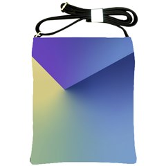 Purple Yellow Shoulder Sling Bags