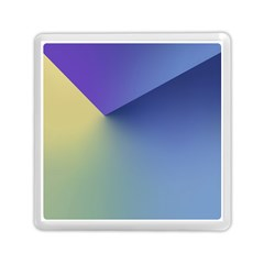 Purple Yellow Memory Card Reader (Square)