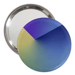 Purple Yellow 3  Handbag Mirrors