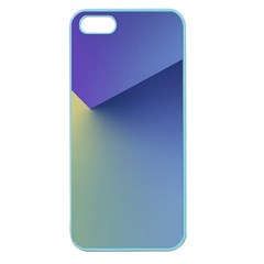 Purple Yellow Apple Seamless iPhone 5 Case (Color)