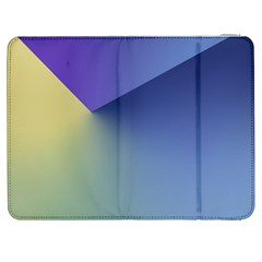 Purple Yellow Samsung Galaxy Tab 7  P1000 Flip Case