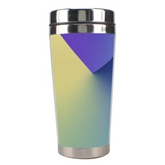 Purple Yellow Stainless Steel Travel Tumblers