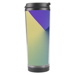 Purple Yellow Travel Tumbler