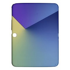 Purple Yellow Samsung Galaxy Tab 3 (10.1 ) P5200 Hardshell Case