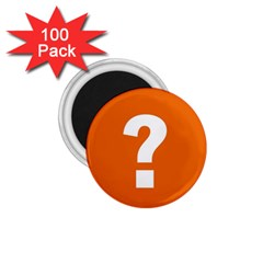 Question Mark 1.75  Magnets (100 pack)