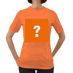 Question Mark Women s Dark T-Shirt