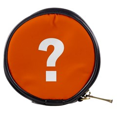 Question Mark Mini Makeup Bags