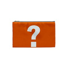 Question Mark Cosmetic Bag (Small)
