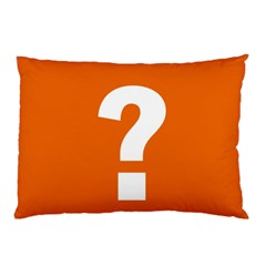 Question Mark Pillow Case (Two Sides)