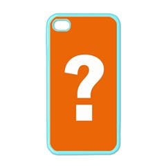 Question Mark Apple iPhone 4 Case (Color)