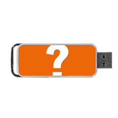 Question Mark Portable USB Flash (Two Sides)