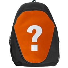 Question Mark Backpack Bag