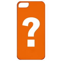 Question Mark Apple iPhone 5 Classic Hardshell Case