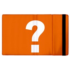 Question Mark Apple iPad 3/4 Flip Case