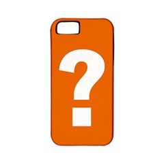 Question Mark Apple iPhone 5 Classic Hardshell Case (PC+Silicone)