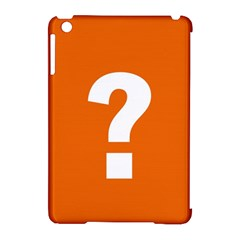 Question Mark Apple iPad Mini Hardshell Case (Compatible with Smart Cover)