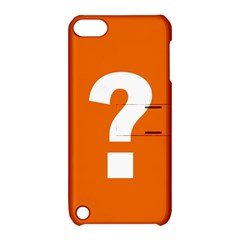 Question Mark Apple iPod Touch 5 Hardshell Case with Stand