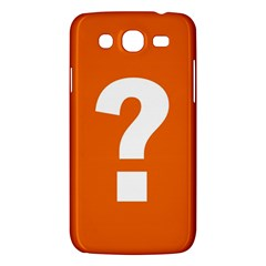 Question Mark Samsung Galaxy Mega 5.8 I9152 Hardshell Case