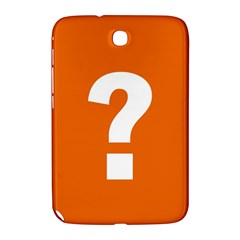 Question Mark Samsung Galaxy Note 8.0 N5100 Hardshell Case