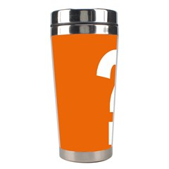 Question Mark Stainless Steel Travel Tumblers