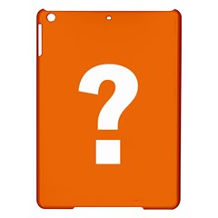 Question Mark iPad Air Hardshell Cases