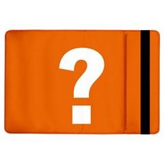 Question Mark iPad Air Flip