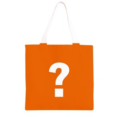 Question Mark Grocery Light Tote Bag