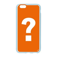 Question Mark Apple Seamless iPhone 6/6S Case (Color)