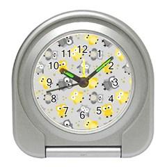 Owl Bird Yellow Animals Travel Alarm Clocks