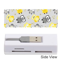 Owl Bird Yellow Animals Memory Card Reader (Stick)