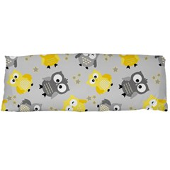 Owl Bird Yellow Animals Body Pillow Case (Dakimakura)