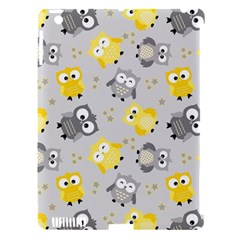 Owl Bird Yellow Animals Apple iPad 3/4 Hardshell Case (Compatible with Smart Cover)