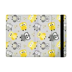 Owl Bird Yellow Animals Apple iPad Mini Flip Case