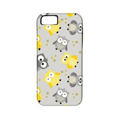 Owl Bird Yellow Animals Apple iPhone 5 Classic Hardshell Case (PC+Silicone)