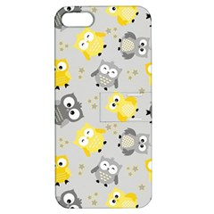 Owl Bird Yellow Animals Apple iPhone 5 Hardshell Case with Stand