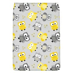 Owl Bird Yellow Animals Flap Covers (L)