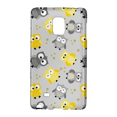 Owl Bird Yellow Animals Galaxy Note Edge