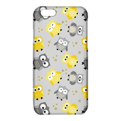 Owl Bird Yellow Animals iPhone 6/6S TPU Case