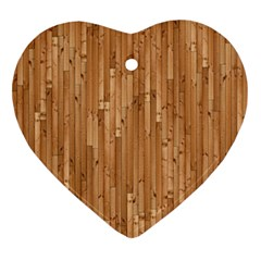 Parquet Floor Ornament (Heart)