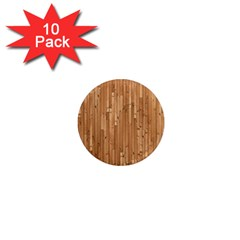 Parquet Floor 1  Mini Magnet (10 pack)