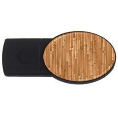 Parquet Floor USB Flash Drive Oval (4 GB)