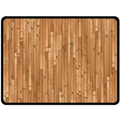 Parquet Floor Fleece Blanket (Large)
