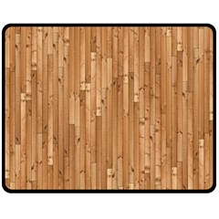 Parquet Floor Fleece Blanket (Medium)