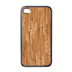 Parquet Floor Apple iPhone 4 Case (Black)