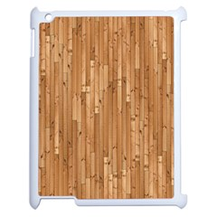 Parquet Floor Apple iPad 2 Case (White)